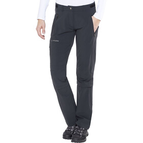 VAUDE Farley II Stretch T-Zip Capri Damer, black